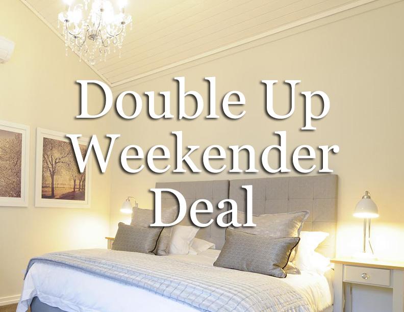 Double Up Weekender Deal, including Breakfast